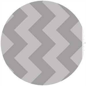 Riley Blake, Large Chevron, Tone on Tone Gray