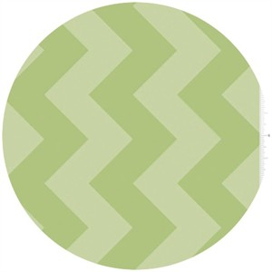 Riley Blake, Large Chevron, Tone on Tone Green