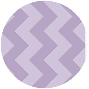 Riley Blake, Large Chevron, Tone on Tone Lavender