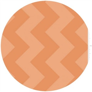 Riley Blake, Large Chevron, Tone on Tone Orange