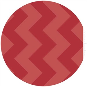 Riley Blake, Large Chevron, Tone on Tone Red
