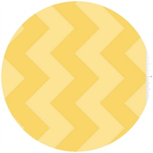 Riley Blake, Large Chevron, Tone on Tone Yellow