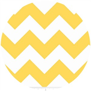 Riley Blake, Large Chevron, Yellow