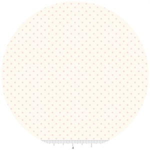 Riley Blake, Le Creme, Swiss Dot On Cream, Baby Pink