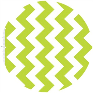Riley Blake, Medium Chevron, Lime