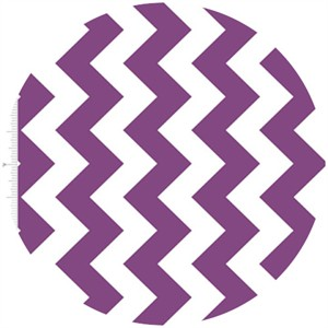 Riley Blake, Medium Chevron, Purple