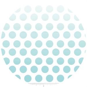 Riley Blake, Ombre Dots, Aqua