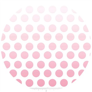 Riley Blake, Ombre Dots, Hot Pink