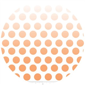 Riley Blake, Ombre Dots, Orange