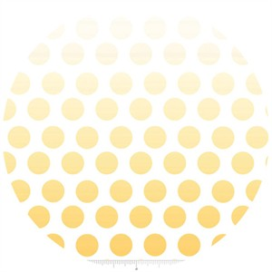 Riley Blake, Ombre Dots, Yellow