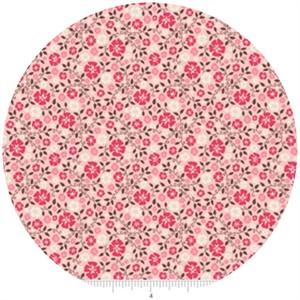 Riley Blake, Roundup!, Cowboy Floral Pink