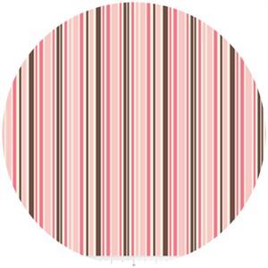 Riley Blake, Roundup!, Cowboy Stripe Pink