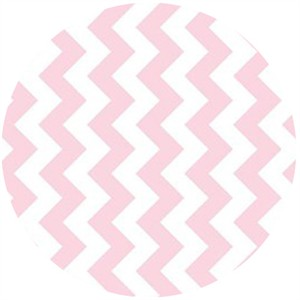 Riley Blake, Small Chevron, Baby Pink