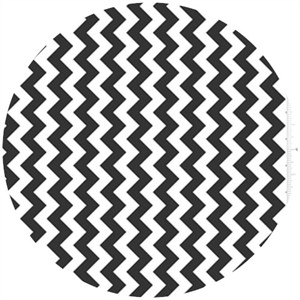 Riley Blake, Small Chevron, Black