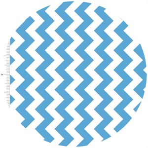 Riley Blake, Small Chevron, Blue