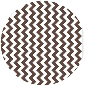 Riley Blake, Small Chevron, Brown