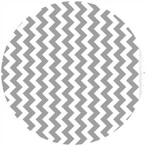 Riley Blake, Small Chevron, Gray