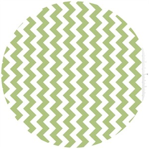 Riley Blake, Small Chevron, Green