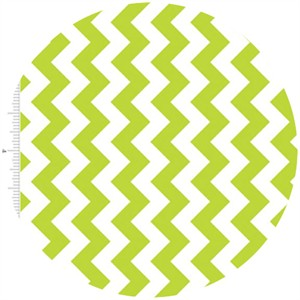 Riley Blake, Small Chevron, Lime