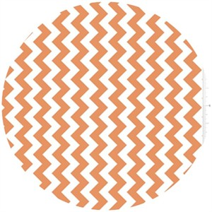Riley Blake, Small Chevron, Orange