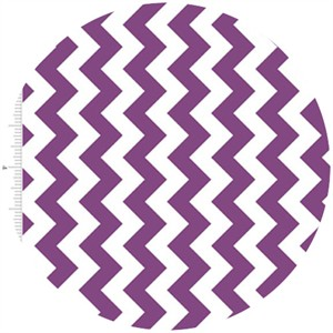 Riley Blake, Small Chevron, Purple
