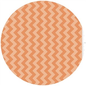 Riley Blake, Small Chevron, Tone on Tone Orange