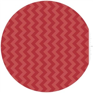 Riley Blake, Small Chevron, Tone on Tone Red