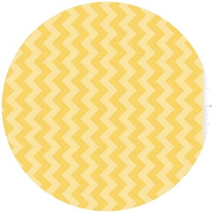 Riley Blake, Small Chevron, Tone on Tone Yellow