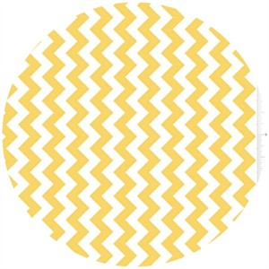 Riley Blake, Small Chevron, Yellow