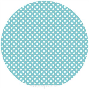 Riley Blake, Le Creme, Small Dot, Aqua