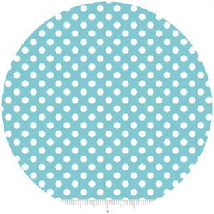 Riley Blake, Small Dots, Aqua