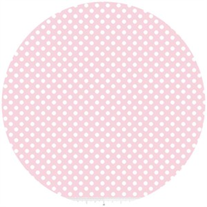 Riley Blake, Small Dots, Baby Pink