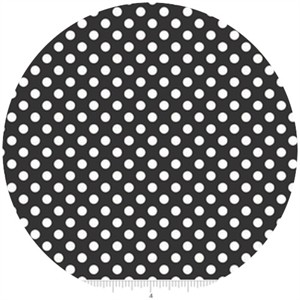 Riley Blake, Small Dots, Black
