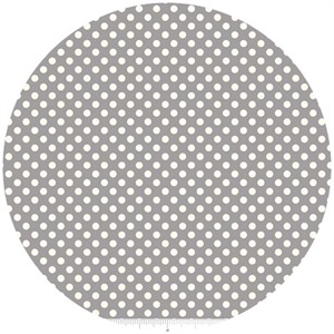 Riley Blake, Le Creme, Small Dot, Gray