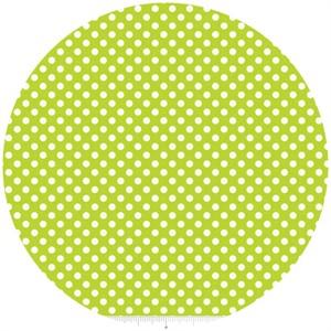 Riley Blake, Le Creme, Small Dot, Lime