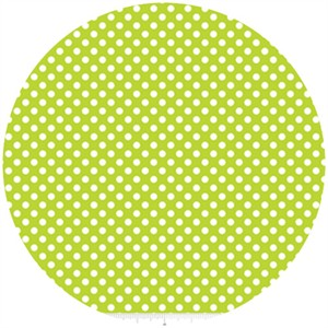 Riley Blake, Small Dots, Lime