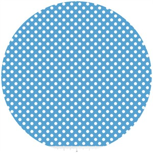 Riley Blake, Small Dots, Medium Blue