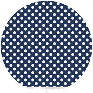 Riley Blake, Small Dots, Navy