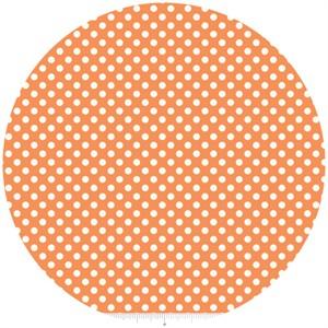 Riley Blake, Le Creme, Small Dot, Orange