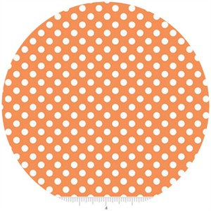 Riley Blake, Small Dots, Orange