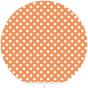 Riley Blake, Small Dots, Orange