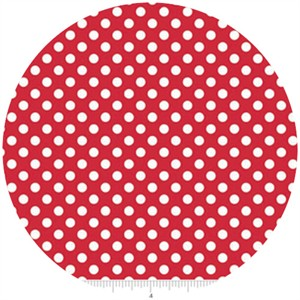 Riley Blake, Small Dots, Red