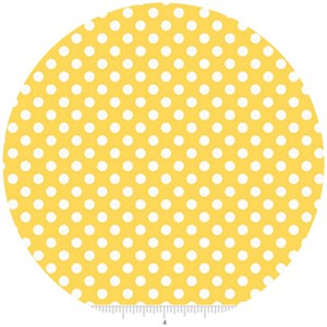 Riley Blake, Small Dots, Yellow