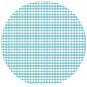 Riley Blake, Small Gingham, Aqua