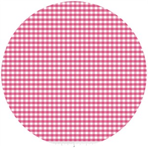 Riley Blake, Small Gingham, Hot Pink