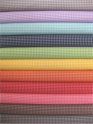 Riley Blake, Small Gingham in FAT QUARTERS 11 Total