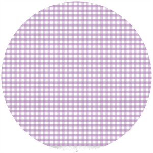 Riley Blake, Small Gingham, Lavender