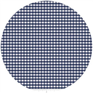 Riley Blake, Small Gingham, Navy