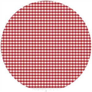 Riley Blake, Small Gingham, Red
