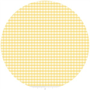 Riley Blake, Small Gingham, Yellow